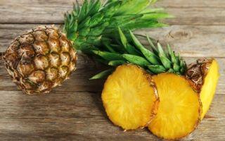 Все о пользе и вреде ананасов