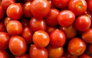 Отварной помидор польза
