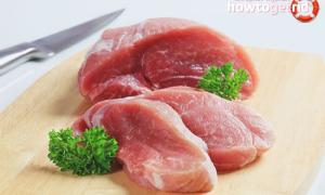 Свинина постная польза и вред