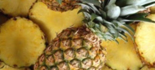 Как есть ананас с пользой