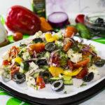 Салат из маслин
