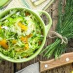 Лёгкие овощные салаты