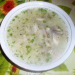 Суп с окорочком и картофелем